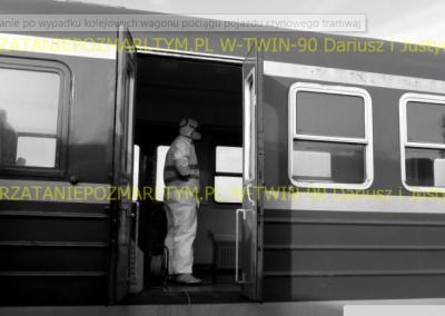 dezynfekcja wagonu pociągu v-twin-90